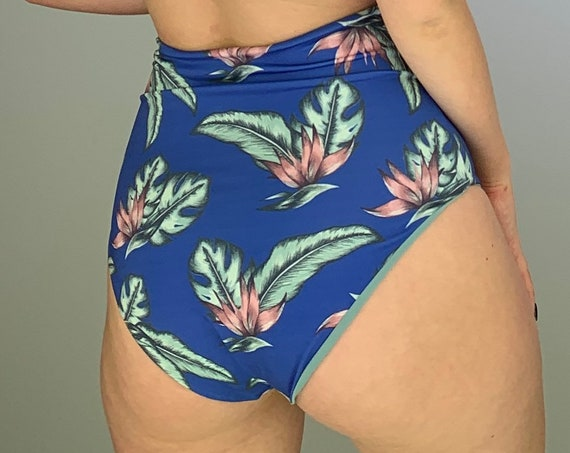 Royal Hibiscus Full Coverage Bottoms