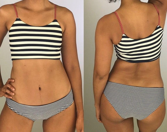 Striped Hipster Bottoms