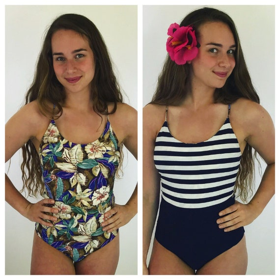 South beach floral one piece