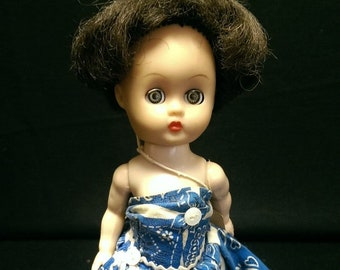 Ginger Doll-Walker molded lashes Cosmopolitan Doll & Toy Co.  Ginny
