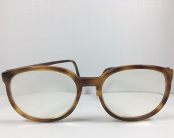 0f7c7cd1a2 Vintage Men s 60 s Universal UOC Eyeglasses Frames Brown Plastic - Free  Shipping