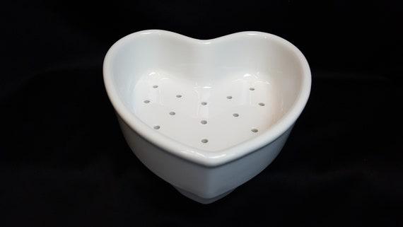 Free Shipping Rocco Co Kitchen Quality Porcelain Coeur A La Creme Dish 7