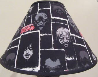 Walking Dead Zombie Lamp Shade