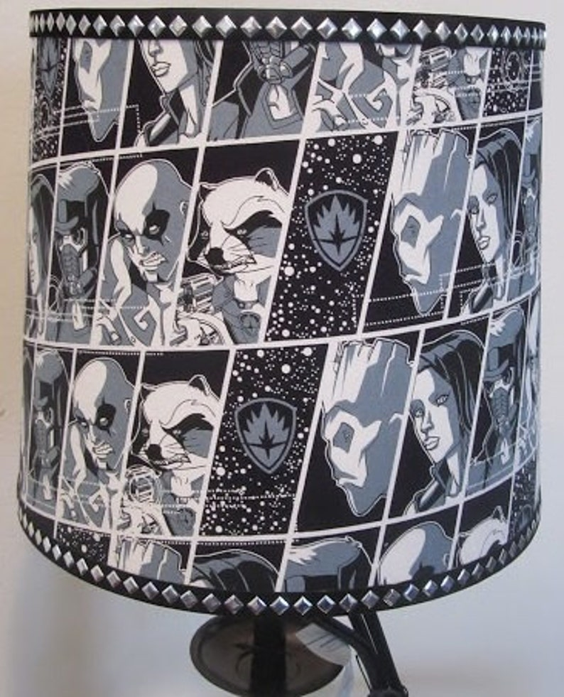 Guardians of the Galaxy Fabric Lamp Shade