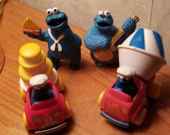 Cookie monster car | Etsy