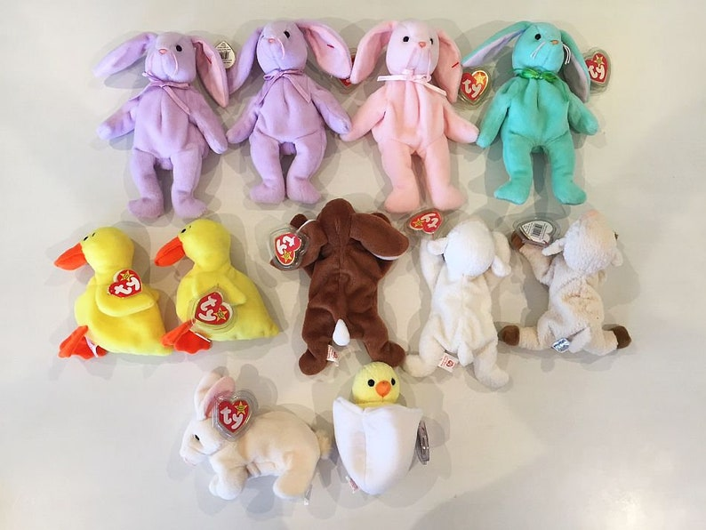 80427ebcaa1 Varied Easter Selection Retired Ty Beanie Babies You pick
