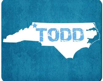 Todd North Carolina Mousepad