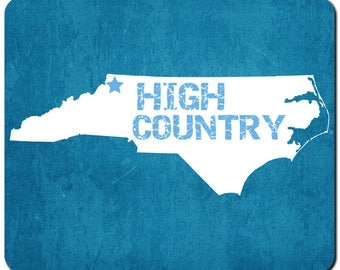 High Country North Carolina Mousepad