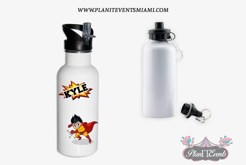 cbe513048e Aluminium Water Bottle Personalised Kids Gifts Drinks | Etsy