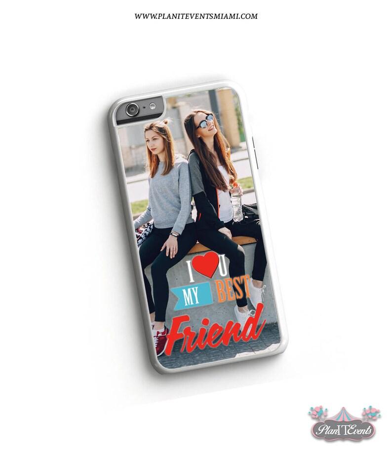 the latest 47b85 f4e5c I Love my Best Friend iPhone Case, BBF Phone Case, BFF, Best Friend Gift,  Custom iPhone Case, Personalized iPhone Case, Photo Phone Case
