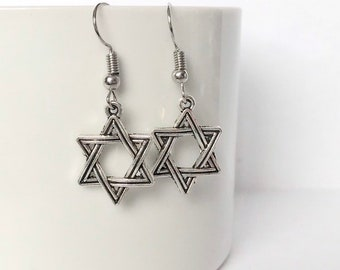 f6eab9427 Star of david earrings | Etsy