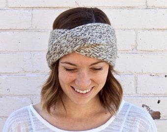 Knit Turban Twist Headband Earwarmer  0be019bdc39