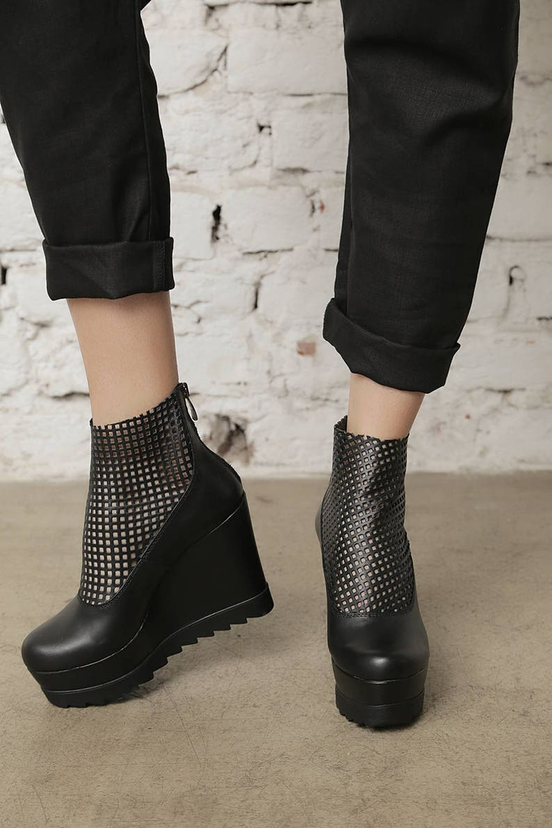 4d0ba2d71bfc Platform Shoes Avant Grade Shoes Disco Shoes Gothic Shoes