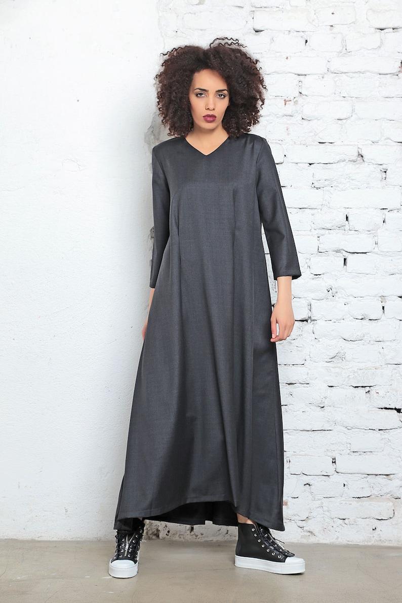 be2c0f4934e Kaftan Dress Victorian Dress Gothic Wedding Dress Long