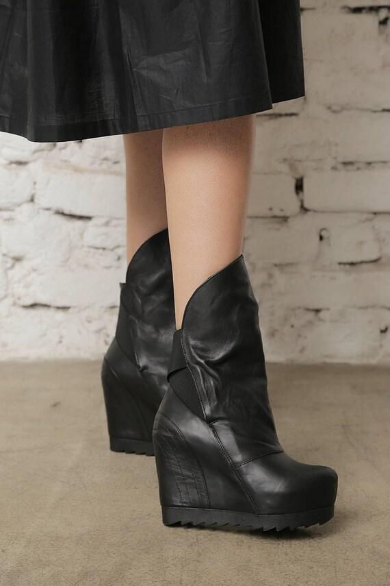 Bottes Etsy chaussures gothique compensées bottes femme wq8BApz