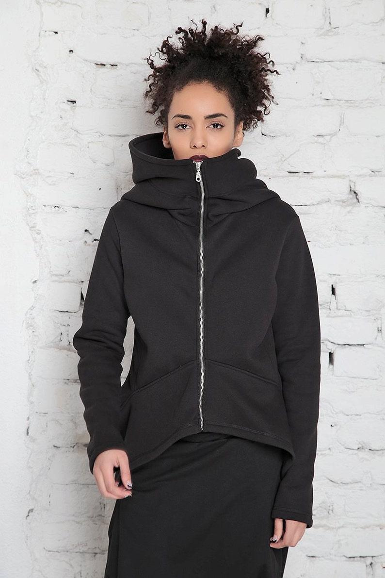 Big Hood Hoodie Oversize Hoodie Black Sweatshirt Plus Size  a62bc6ddfd10