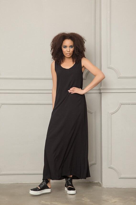 Maxi Dress Summer Summer Casual Tank Long Dress Dress Women Dress Plus Dress Black Dress Size Black Dress Maxi Dress Clothing Loose Op0qAxw