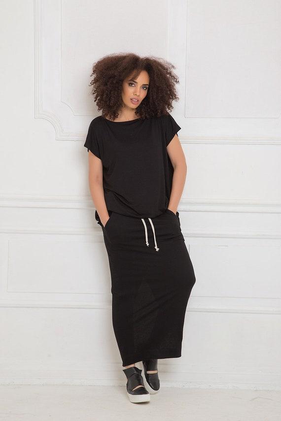 Size Skirt Skirt Minimalist Plus Long Tube Size Skirt Black Plus Skirt Women Skirt Skirt Maxi Clothing Size Skirt Maxi Skirt Plus UqSdwTR7
