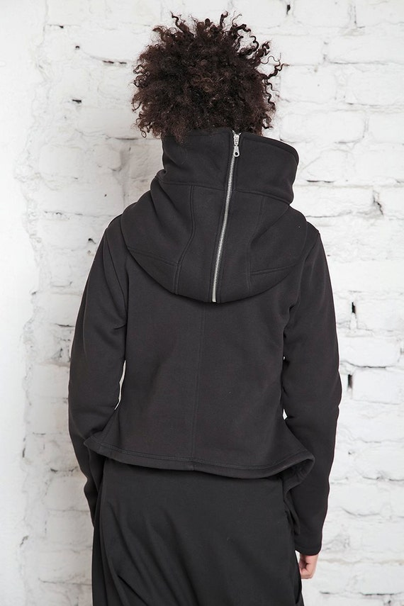Big Black Hoodie Up Hoodie Plus Jacket Size Sweater Sweatshirt Workout Oversize Zip Hooded Hoodie Jacket Women Sweatshirt Hood Hoodie rnpvrR