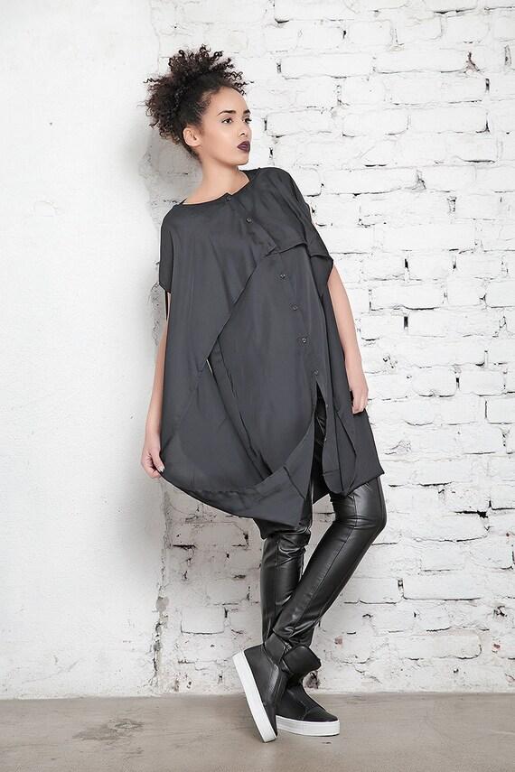 Size Maxi Kaftan Long Dress Size Dress Black Dress Dress Style Goth Dress Tunic Caftan Dress Plus Plus Layered Shirt Party qAvXw8ExE
