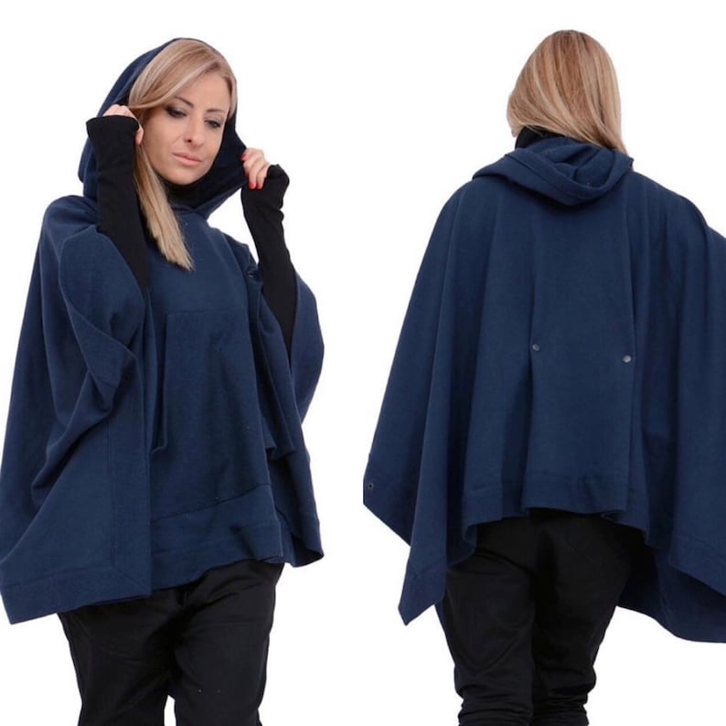 eae89494700 Women Poncho Maxi Wrap Plus Size Coat Women Coat Cape