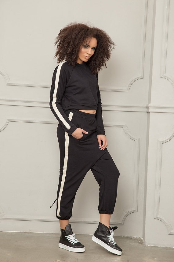 Sport Sweatshirt Sport Harem Set Sport Top Clothing Pants Set Sweat Women Pants Women Activewear Sport Sports Pants Women Women Wear XnRO7RU