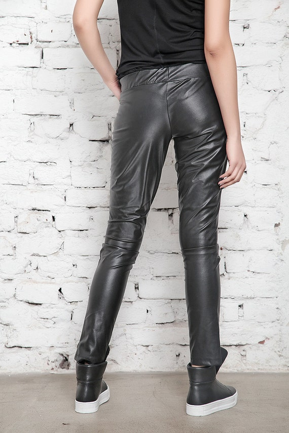 Trousers Pants Sexy Leggings Faux Leather Leggings Leather Womens Leggings Clothing Black Black BDSM Long Pants Pants Leather q0RRAxwvX