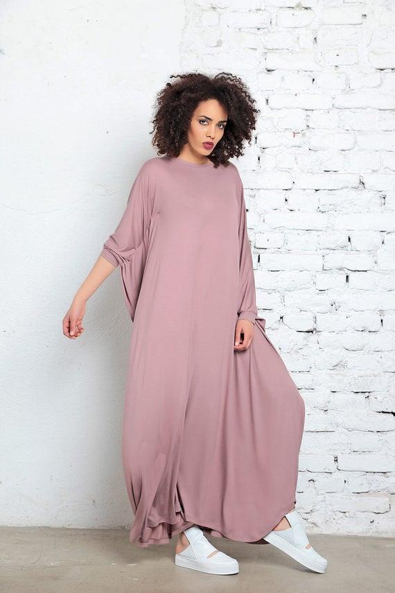 Clothing Dress Maxi Boho Cape Dress Maxi Dress Dress Funky Dress Size Dress Dress Blush Kaftan Plus Caftan Dress Abaya Pink Women I7nAqCwS