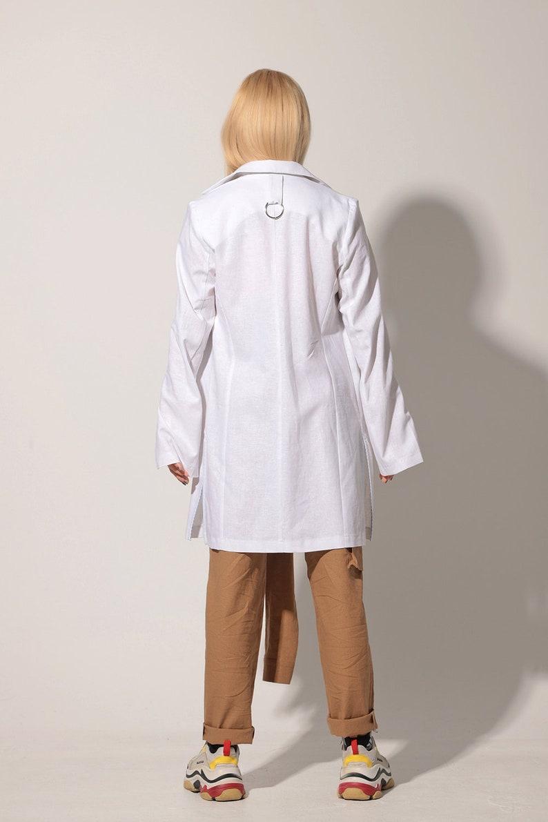 Summer Linen Coat Linen Clothing Plus Size Clothing Plus Size Linen Coat Lightweight Coat Elegant White Linen Coat Linen Blazer Coat