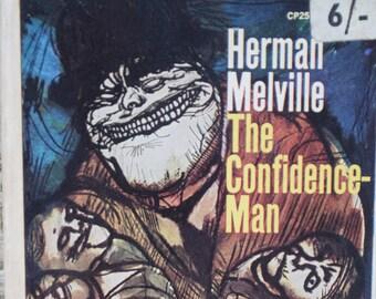 The Confidence-Man. Herman Melville. A Vintage Paperback Book. 1964