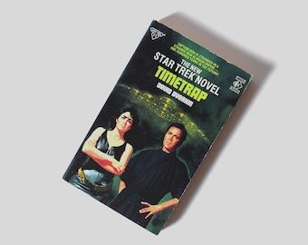 Timetrap. David Dvorkin. Original Star Trek Series 40. UK First Edition Book 11. Vintage Titan Books Paperback. 1988