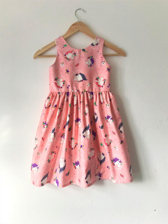55dc07c5f41fd Unicorn dress unicorns unicorn dresses pink dress kids | Etsy