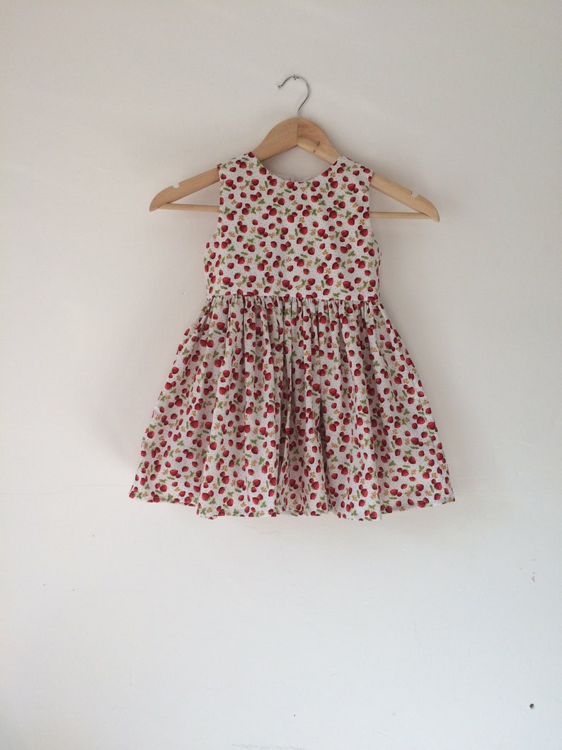 ac4de74195aaa Strawberry dresses girls dress strawberries baby girl kids | Etsy