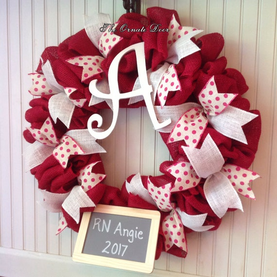 School Nurse Wreath Nurse Wreath School Nurse Office Decor Etsy