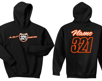 Indians Custom Personalized Name /& Number Adult Jersey Hooded Sweatshirt