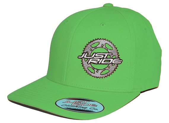 2caddee81a8 Just Ride Sprocket Motocross Hat Cap Flexfit MX Moto Dirt Bike