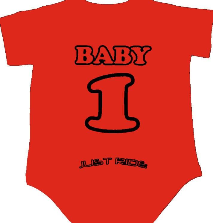 MOTO-X BABY T SHIRT ONE PIECE CREEPER BABY INFANT MOTOCROSS MX