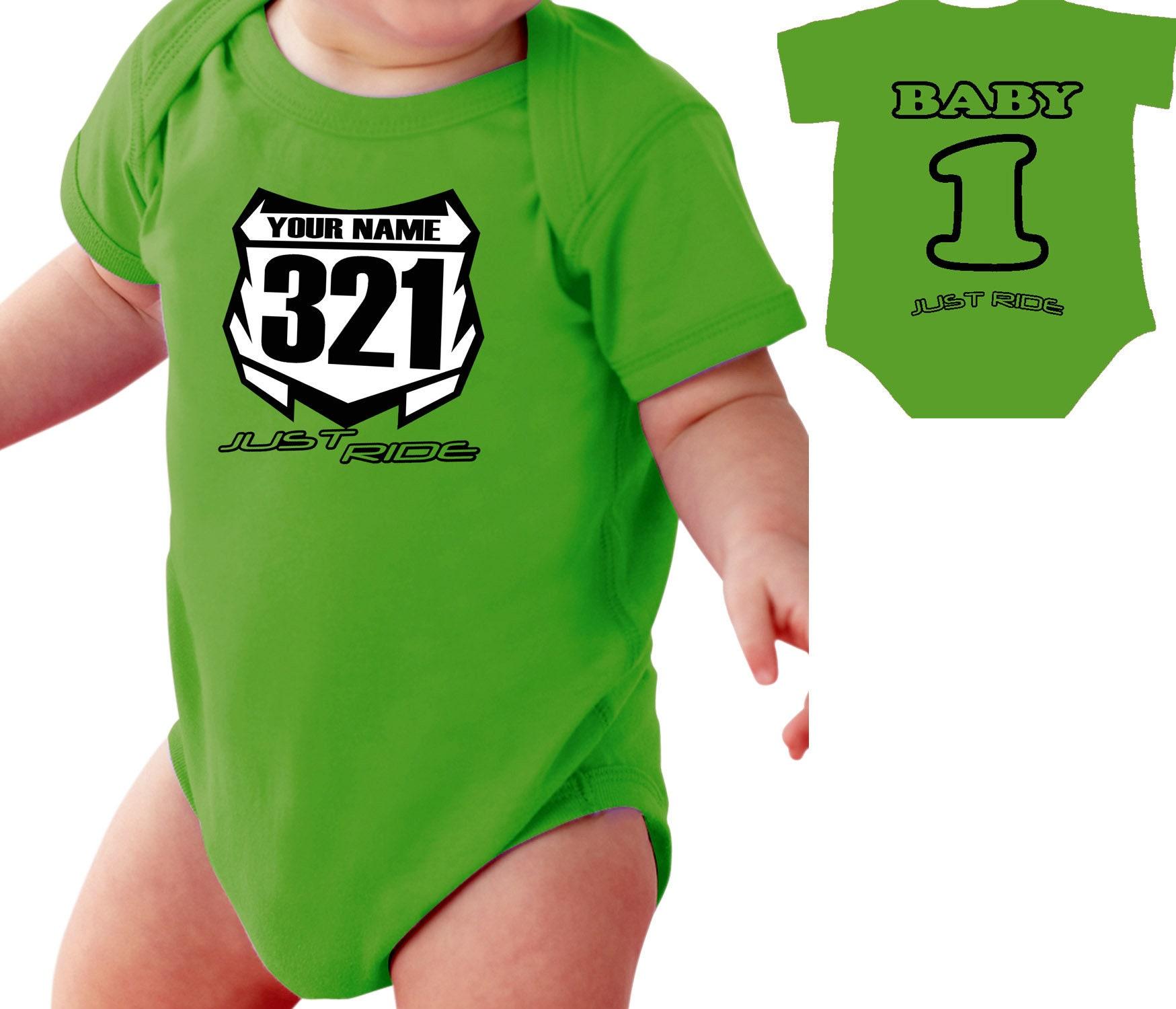 T-shirt e maglie T-shirt, maglie e camicie Tshirt Shirt Baby Print moto ktm Custom Baby Name and Number