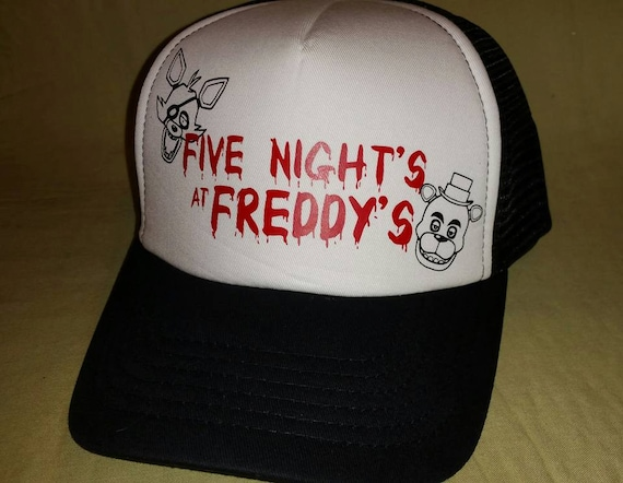 Five Nights at Freddy s Hat Truckers hat FNAF FNAF4  a00c1ac80a5
