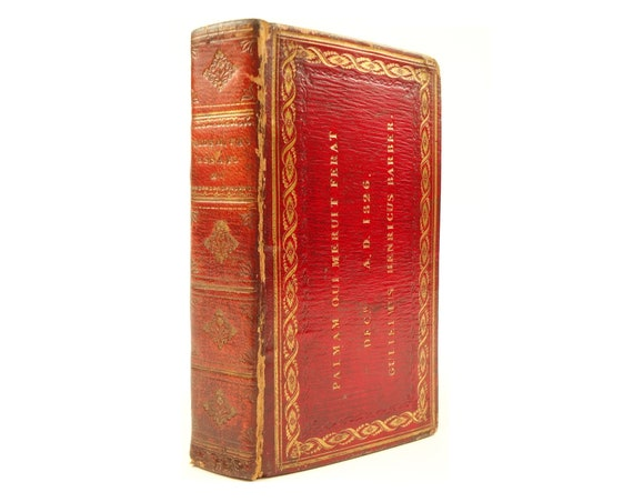 Prize binding. 1820 Essays, Poems, and Plays by Oliver Goldsmith. Fine binding.