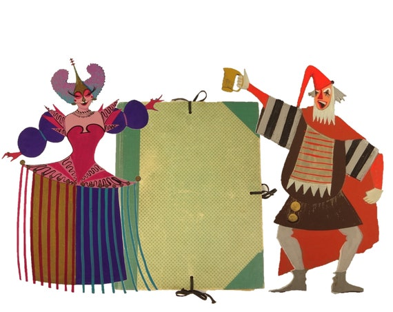 Seventeen (painted) costume designs (originals) for plays by William Shakespeare, Ben Jonson, and Beaumont