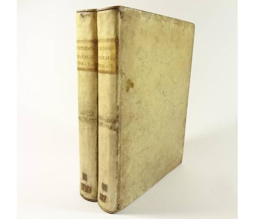 18th century codex (manuscript), Theologia Moralis. II vols.. Provenance. Theology (banned).