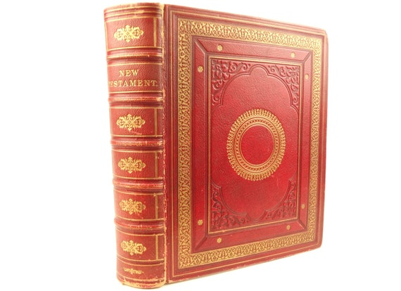 1865 New Testament. Finely bound by Riviere. Portland Oregon, Frederick Van Voorhies Holman provenance
