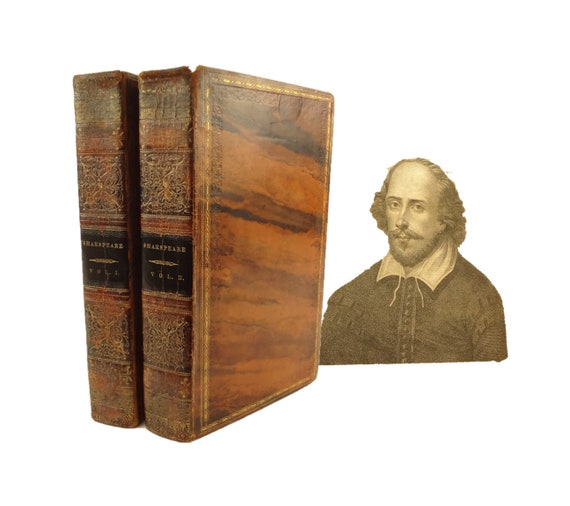 1825 The Dramatic Works of William Shakespeare, with notes, life. King, New York