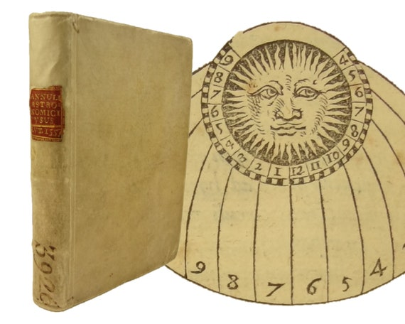 1557 Annuli Astronomici, Instrumenti cum Certissimi... Peter Beausard. Paris. Astronomy. Illustrated.