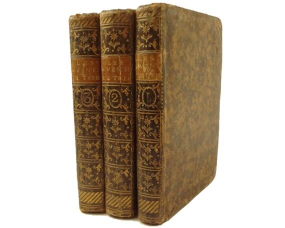 1792 Les Aventures de Telemaque Fils D'Ulysse, includes Aventures d'Aristonous