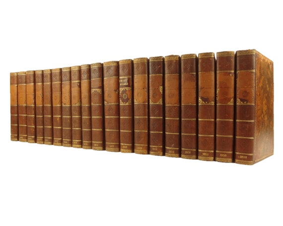1808 The Works of Rev Jonathan Swift, complete in 19 volumes. Gulliver's Travels, etc.