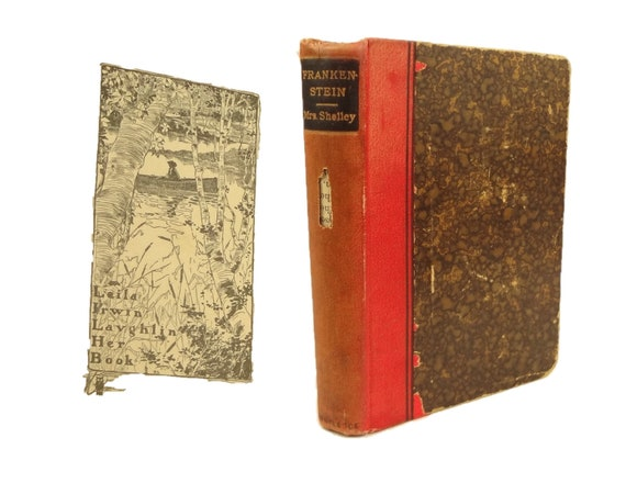 1888 Frankenstein, or The Modern Prometheus by Mary Shelley. Publisher -Routledge