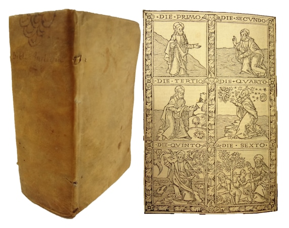 1519 Biblia cum Summariorum..., Mareschal for Simon Vincent. Lyon. Bible. Illustrated.