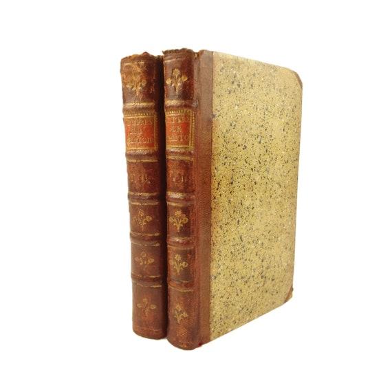 1752 Lettres sur L'Histoire par Henri Saint-Jean, Lord Vicomte Bolingbroke